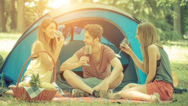 Tips for Camping with Wine