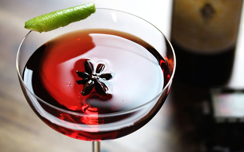 Barolo Darkside Wine Cocktail