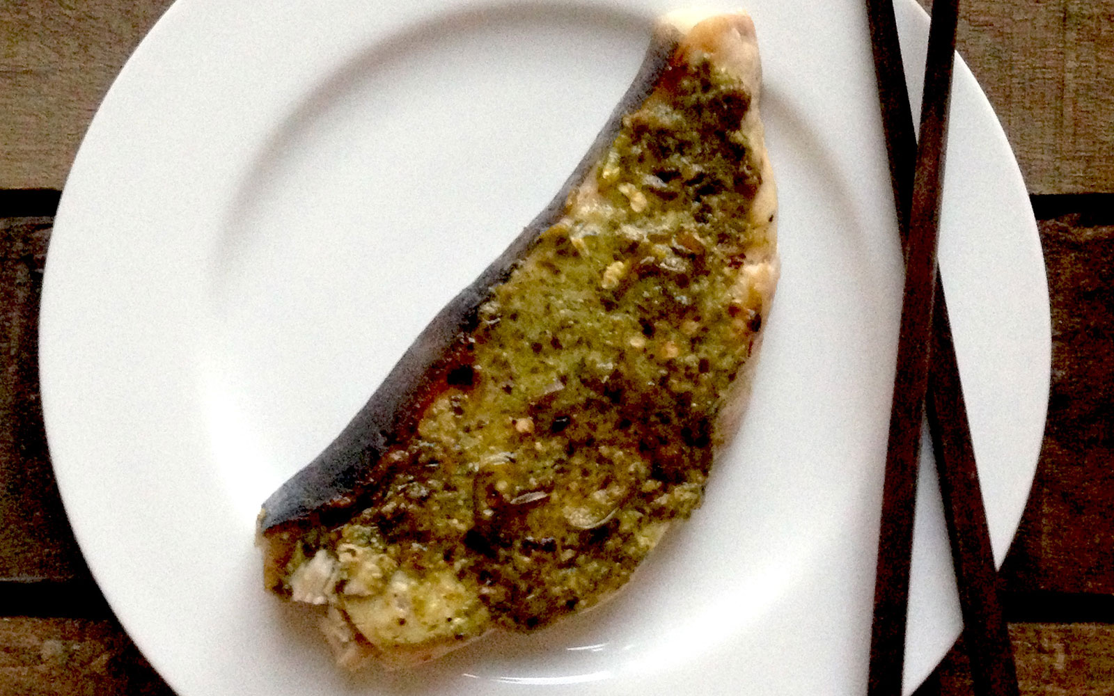 Grilled Swordfish with Olive Pesto